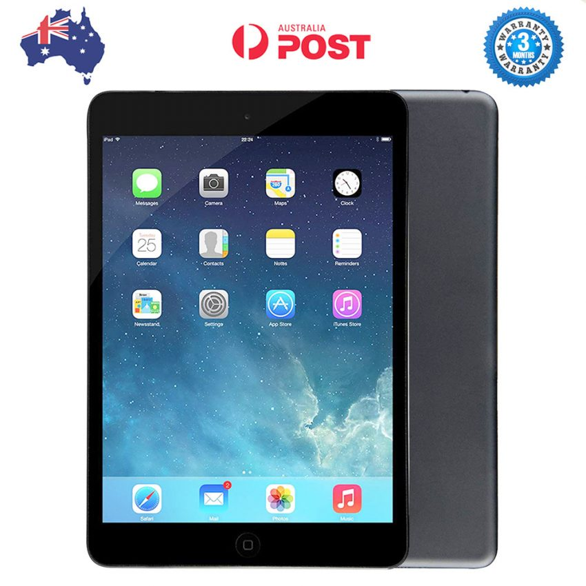 Apple-iPad-MINI-32GB-Wi-Fi-(MD529X-A)---Black-[AuStock].-pic-7