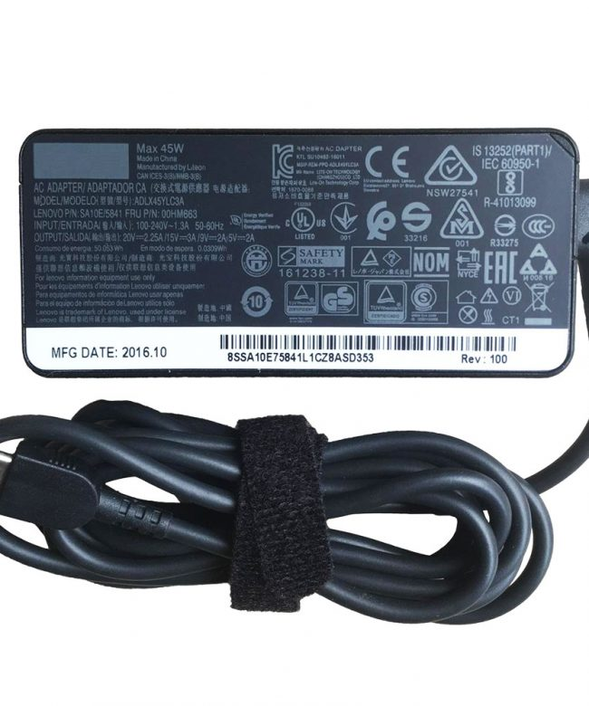 Lenovo-65W-Standard-AC-Adapter-Charger-(USB-Type-C)--[AuStock]