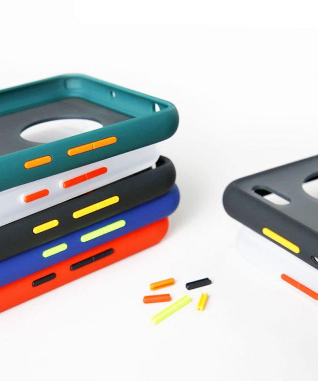 Hybrid-Translucent-Matt-Bumper-Case-for-Samsung-Galaxy-Note-20.-pic-1