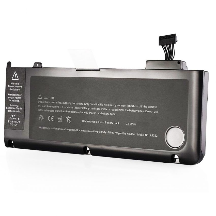 Original-A1322-Battery-for-Apple-MacBook-Pro-13-inch-Unibody-A1278-(2009,-2010,-2011,-2012)---[AuStock].-pic-1