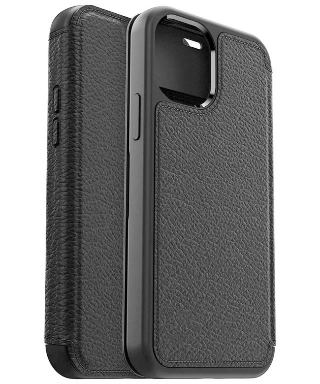 Otterbox-Strada-Folio-case-for-iPhone-12-Series-BLACK