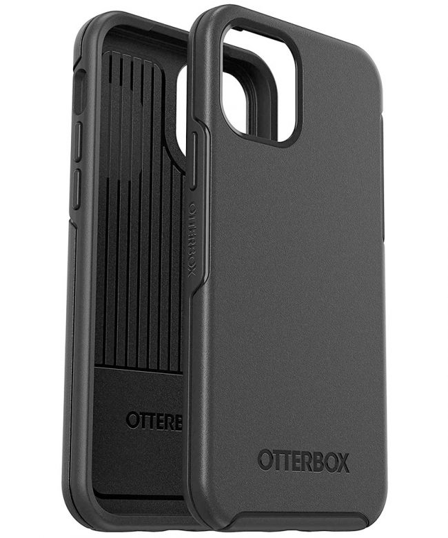 Otterbox-Symmetry-Series-case-for-iPhone-12-Series-BLACK