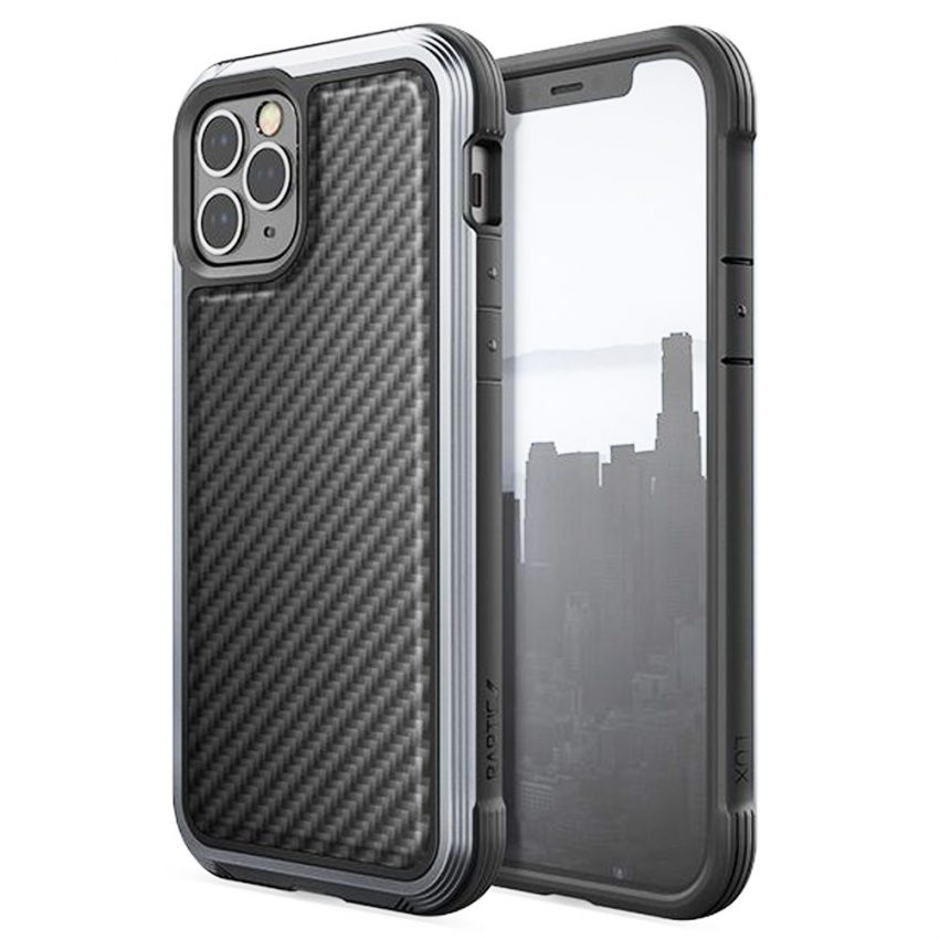 Raptic-Lux-For-iPhone-12-and-12-Pro-(6.1)---Black-Carbon
