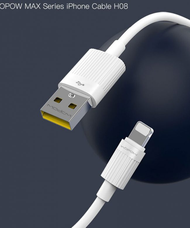 Wopow-Max-Lightning-cable-1000mm,-2.4A-(H08)