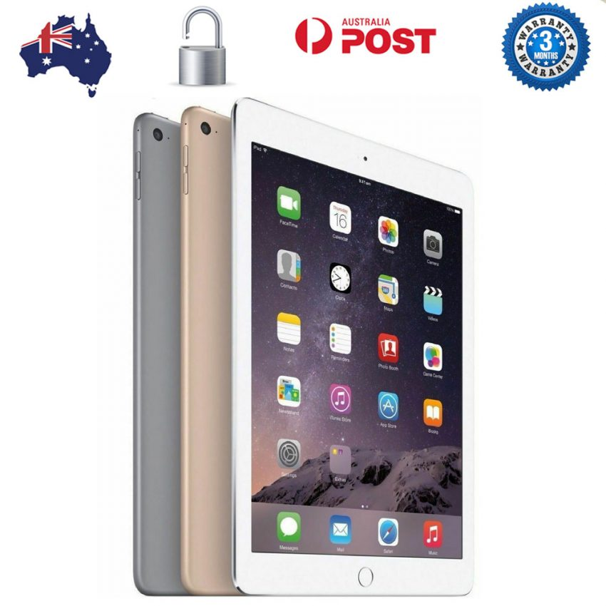 Apple-ipad-Air-2-WiFi-Only-A1566-16GB-AuStock-Unlocked