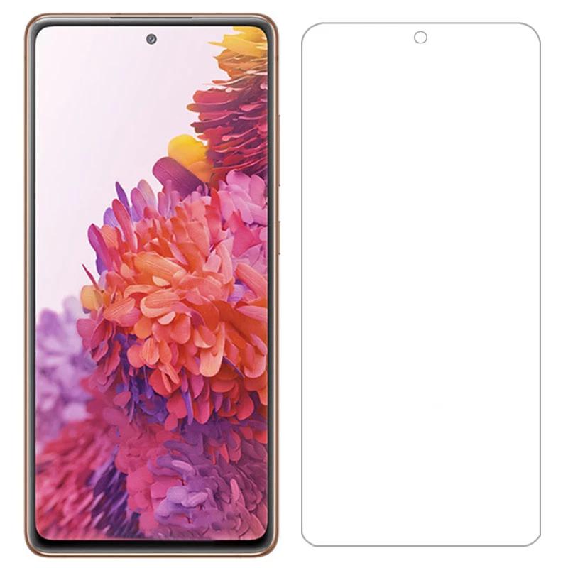 Samsung galaxy s20 FE Black tech Tempered Glass clear